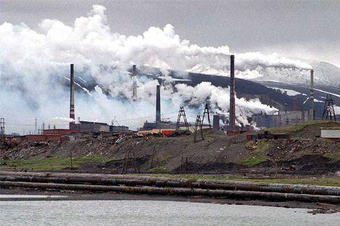 Norilsk: Erst Zwangsarbeiterlager, jetzt bedeutendes Industrierevier - und sehr schmutzig