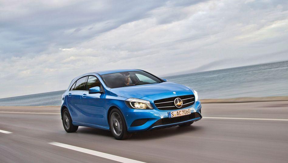 Mercedes A-Klasse: Kompaktwagen-Baureihe mit verbotenem Kältemittel