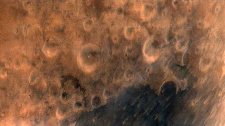 """Aufnahme der indischen Mars-Sonde: """"Der Blick ist wunderschön"""""""