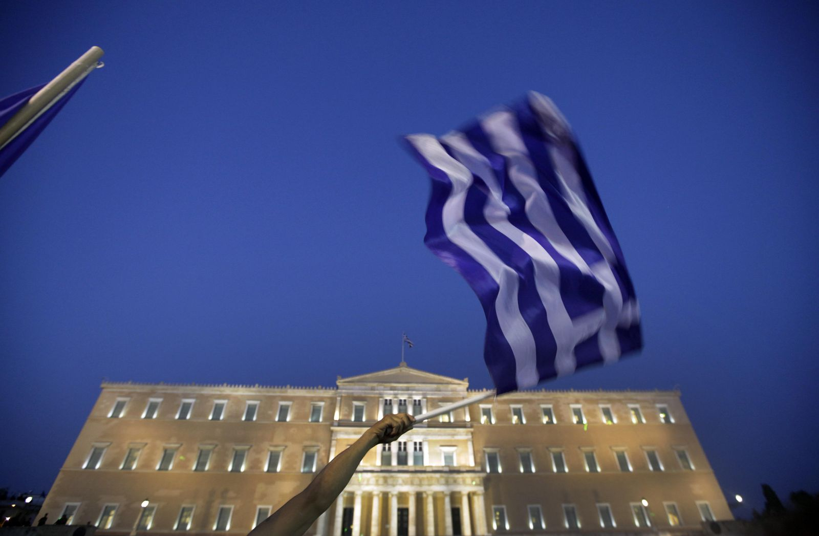 Griechenland / Protest / Syntagma-Platz