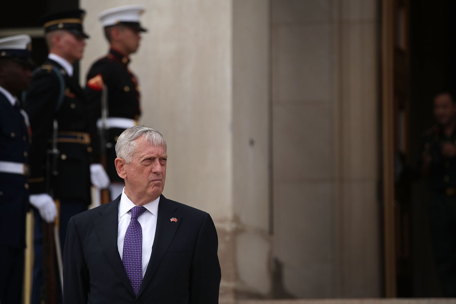 US-DEFENSE-SECRETARY-JAMES-MATTIS-HOSTS-VIETNAMESE-DEFENSE-MINIS