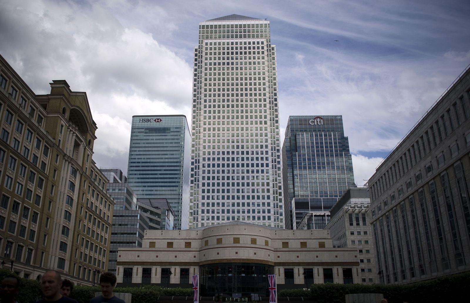 NICHT VERWENDEN Bankenviertel London