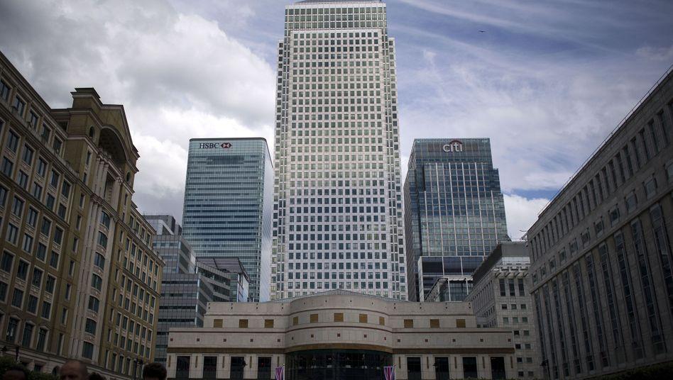 Finanzdistrikt in London: Mögliche Beeinflussung von Devisenkursen