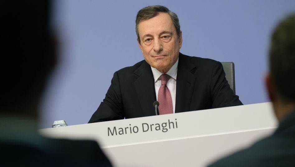 Mario Draghi: Der Mann, der den Währungsraum zusammengehalten hat