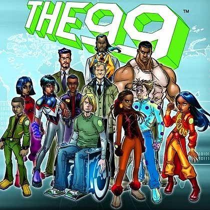 """Islamische Superhelden: """"Die 99"""""""