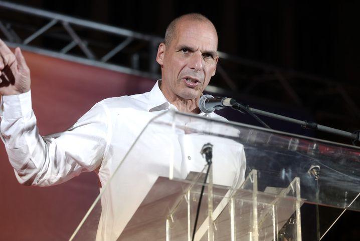Yanis Varoufakis, Ex-Finanzminister, holte gut drei Prozent und kommt wohl ins Parlament