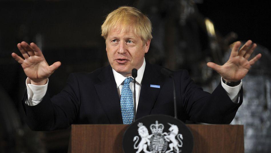 Großbritanniens neuer Regierungschef Boris Johnson