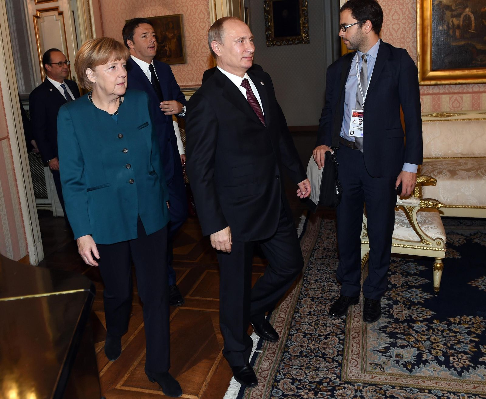 Merkel/ Putin