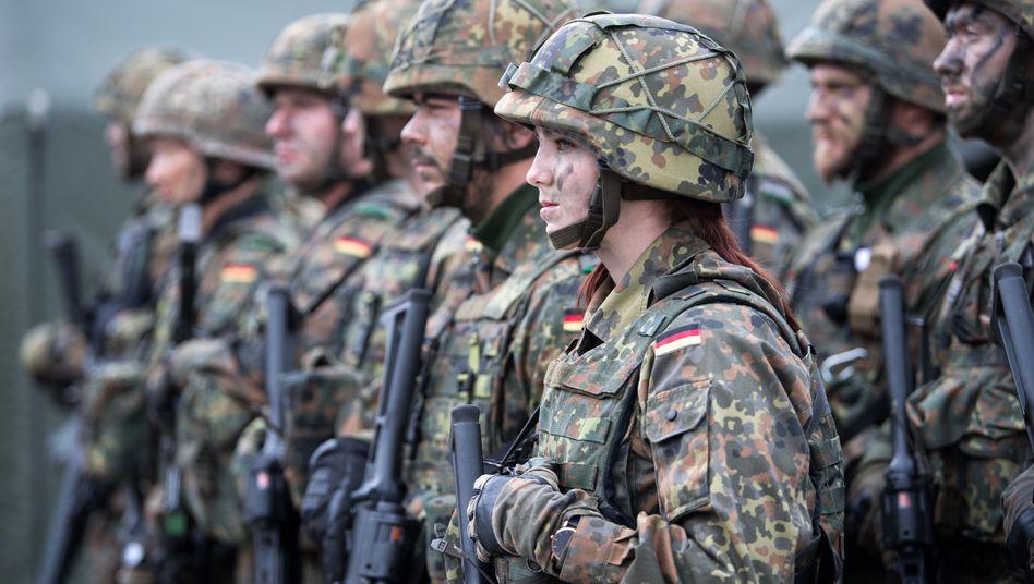 Bundeswehrsoldaten in Litauen (Archivbild)