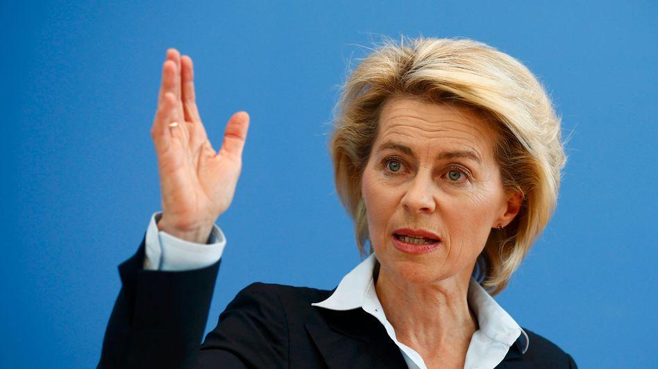 """Verteidigungsministerin von der Leyen: """"Die Koalition hat offenbar das Vertrauen verloren"""""""
