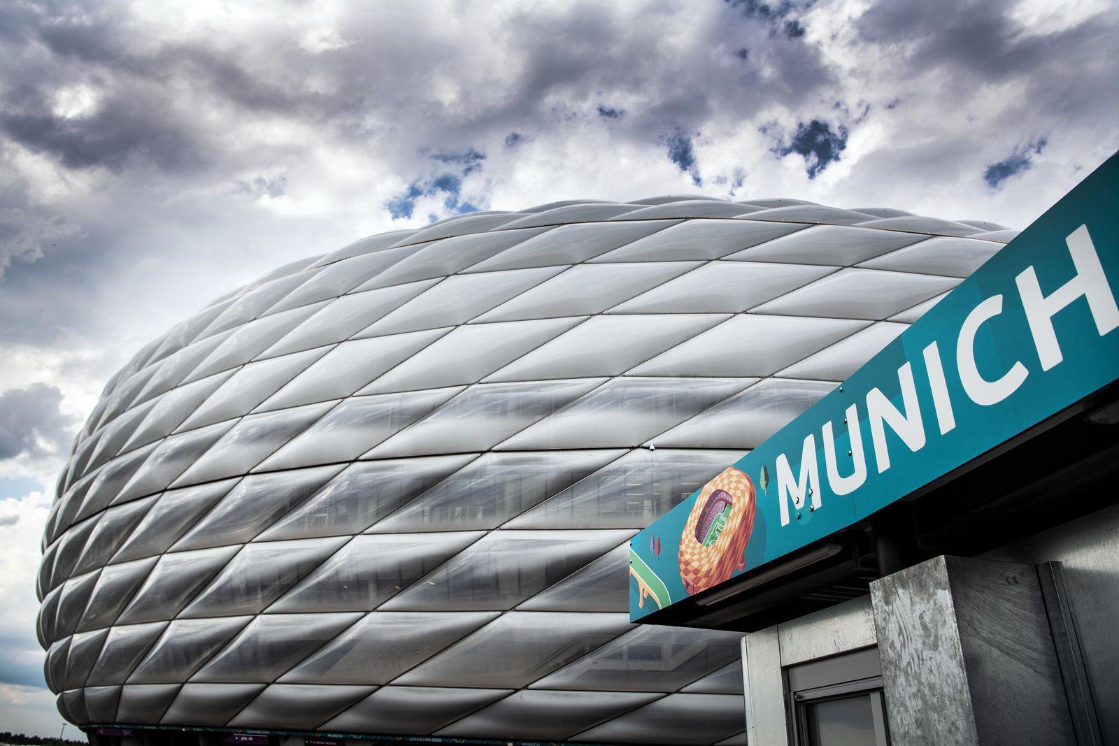 Fußball-EM - Alianz Arena