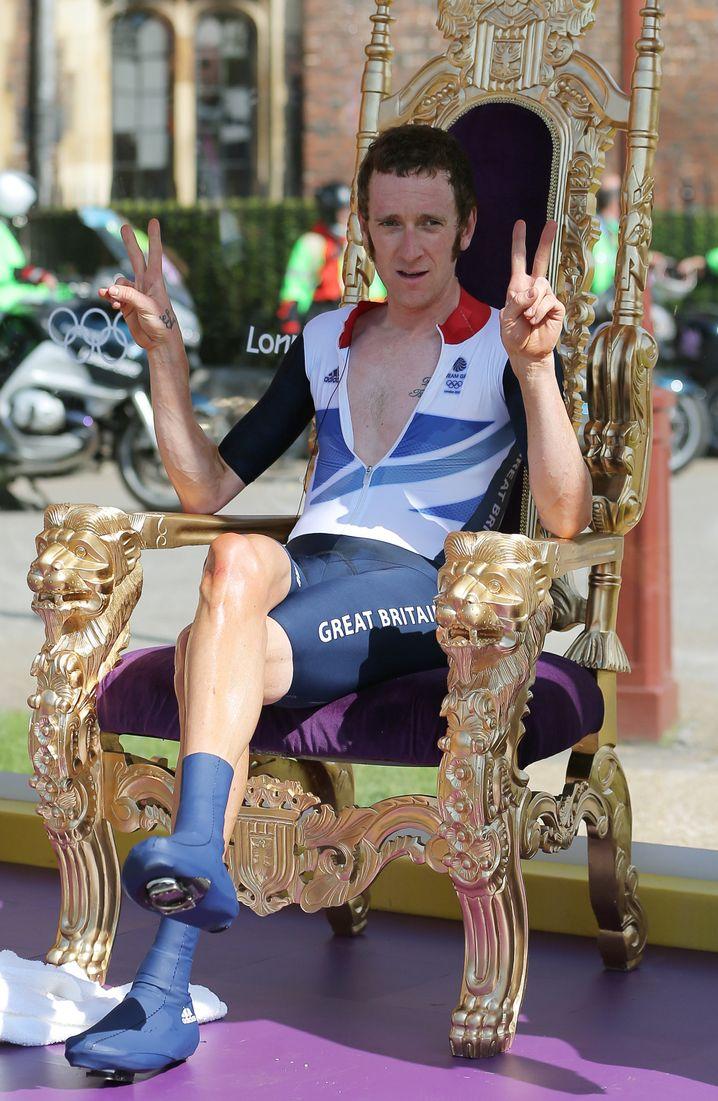 Olympiasieger Wiggins 2012