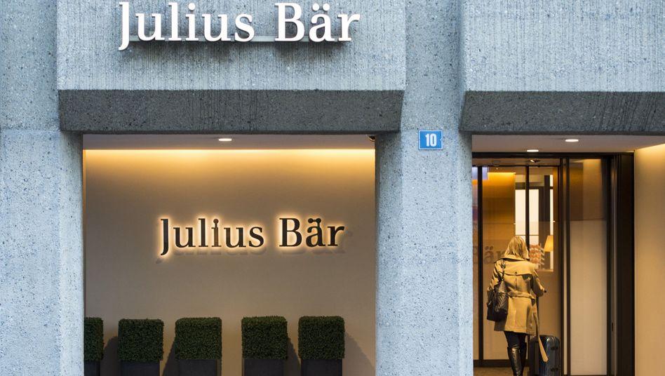 Eine Filiale der Bank Julius Bär (Archivbild)