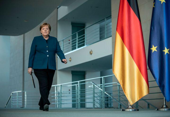 Angela Merkel: Dienstgeschäfte aus der Quarantäne