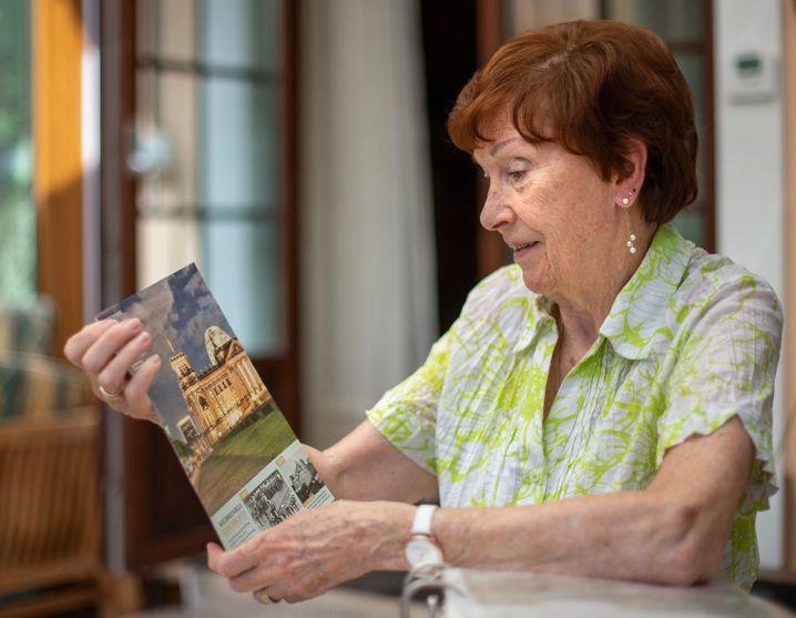 Mareile Van der Wyst wurde am 15. September 1944 im Keller des Reichstages geboren