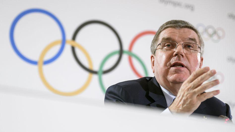 IOC-Boss Thomas Bach