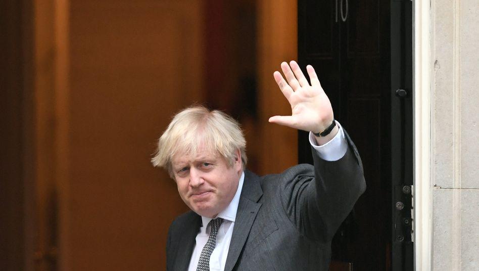 Premier Boris Johnson: Hat viel vor im neuen Jahr