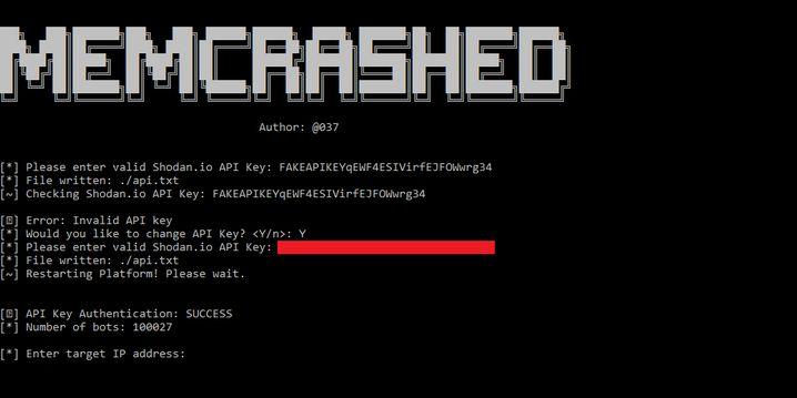 Anleitung für DDoS-Angriffe über Memcached-Server