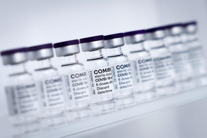 Comirnaty, der Impfstoff von Biontech und Pfizer