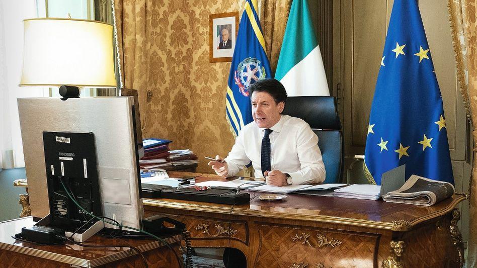"Ministerpräsident Conte: ""Ich habe an Churchill gedacht"""