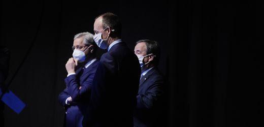 CDU-Kandidaten Laschet, Merz, Röttgen: Drei Prinzen beim Schaulaufen