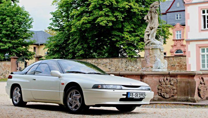 Günstige Oldtimer - Subaru SVX: Erstglasige Leistung