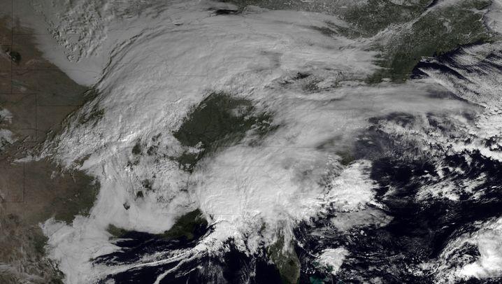 USA vor Schneesturm: Ostküste rüstet sich für Eisorkan