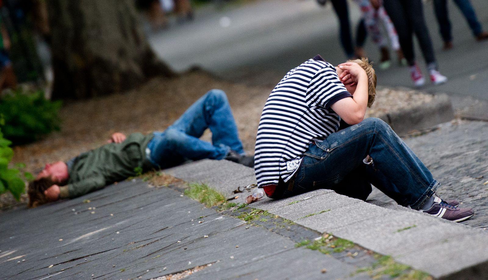 Obdachlose / Armut / Deutschland / Elend / Obdachlosigkeit