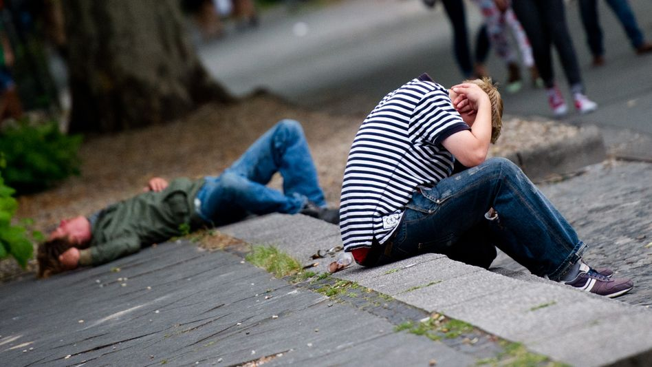 """Junge Obdachlose in Berlin (Archivbild): In Deutschland gibt es laut Schätzungen rund 21.000 """"entkoppelte Jugendliche"""""""