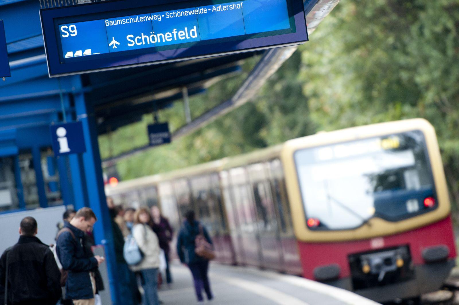Verspätungen bei Berliner S-Bahn