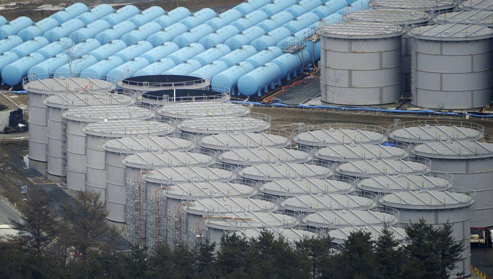 Fukushima: Strahlende Wassermassen