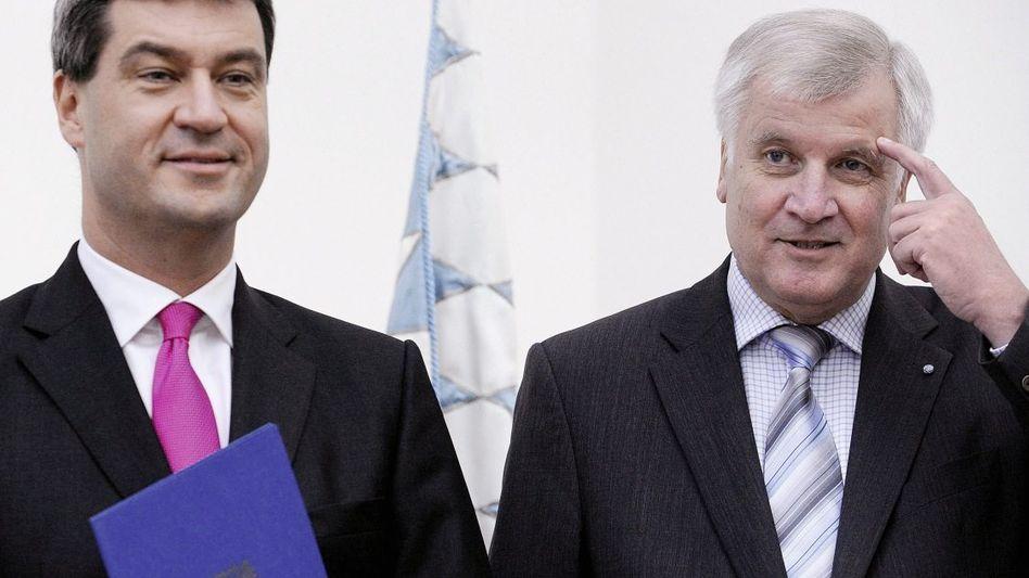 Parteifreunde Söder, Seehofer: Die Herzkammer ignoriert
