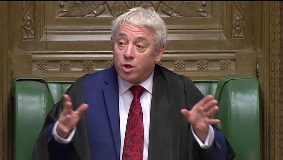 Parlamentspräsident John Bercow hat es in der Hand: Bereits heute könnte das Parlament über den neuen Brexit-Deal von Boris Johnson abstimmen.