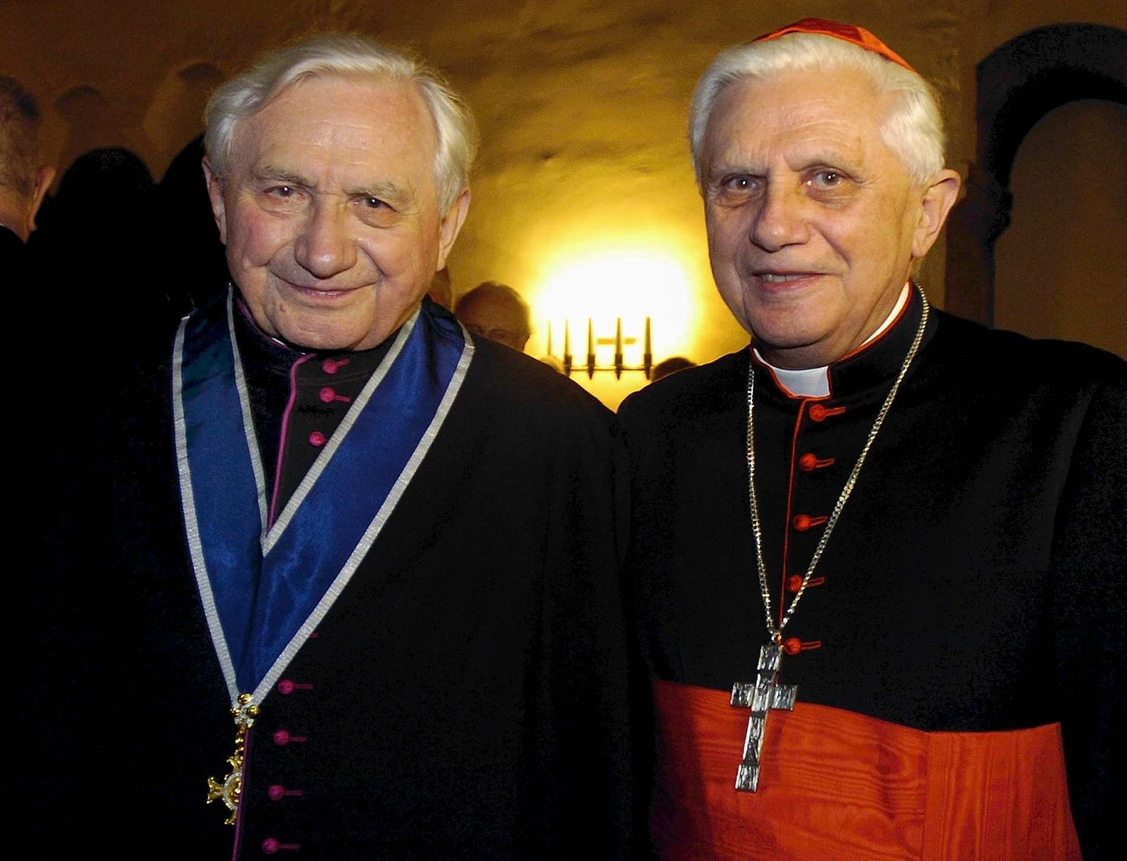 Benedikt XVI. besucht kranken Bruder in Bayern