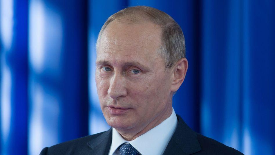 Russlands Präsident Putin: Waffen für Assad
