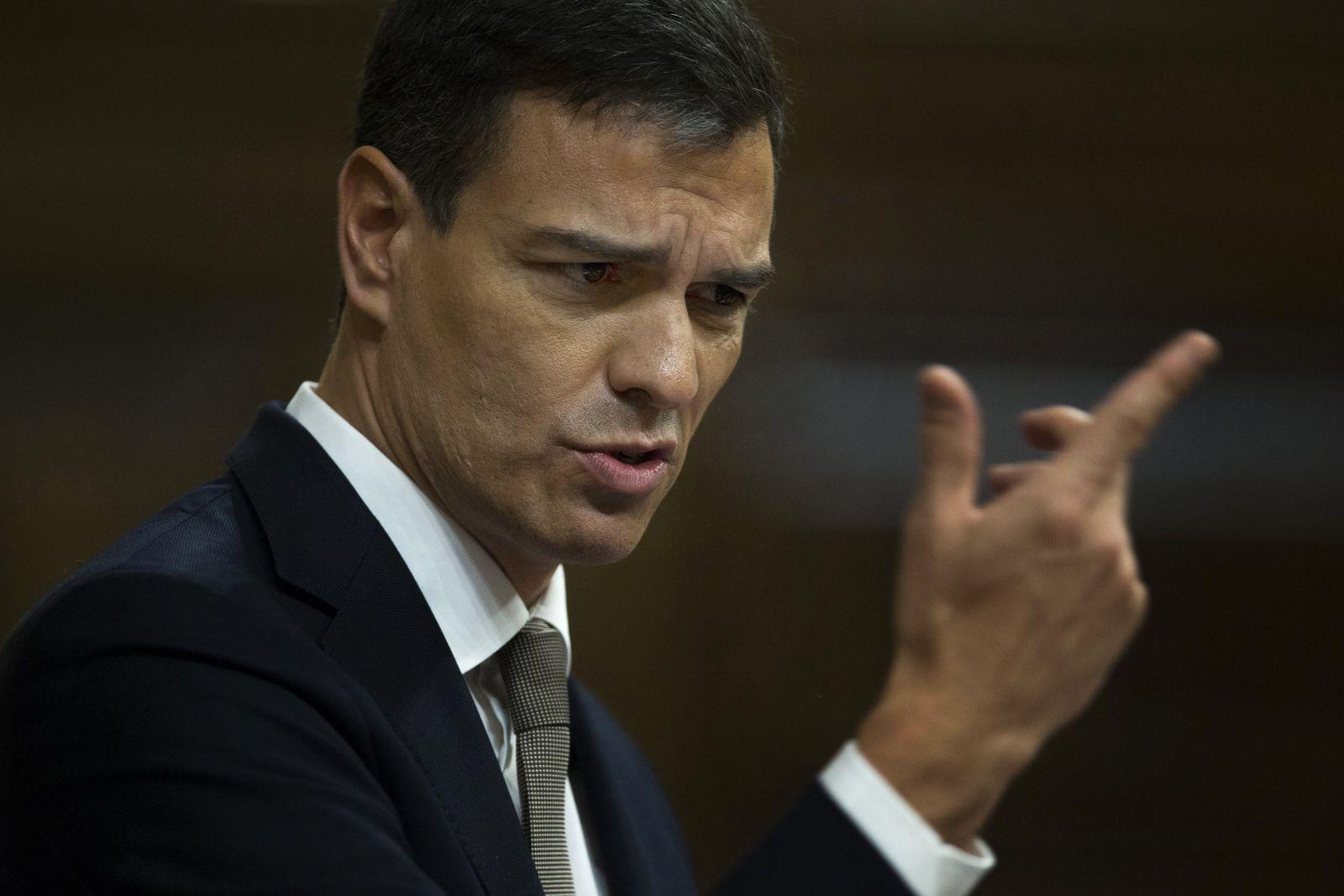 Spain Politics, Pedro Sanchez