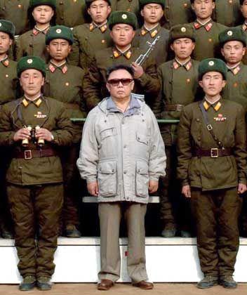 Nordkoreas Staatschef Kim Jong Il: Dunkle Drohungen aus Pjöngjang