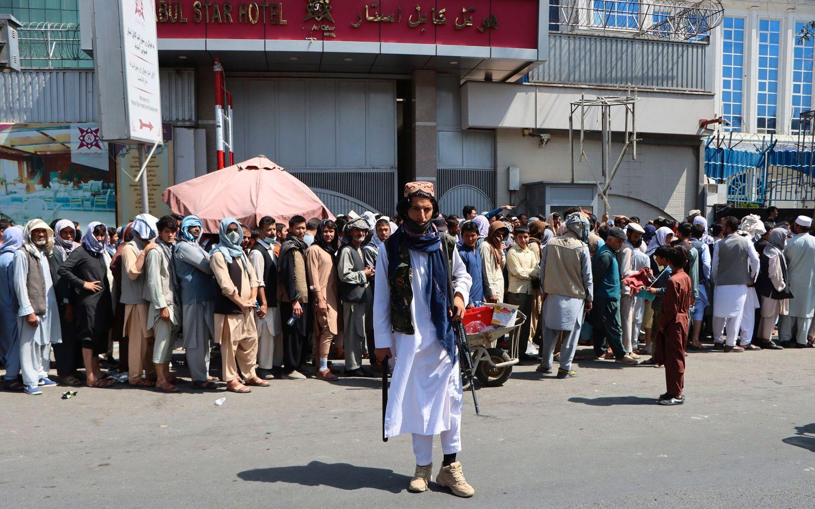 Afghanistan crisis - Banks situation