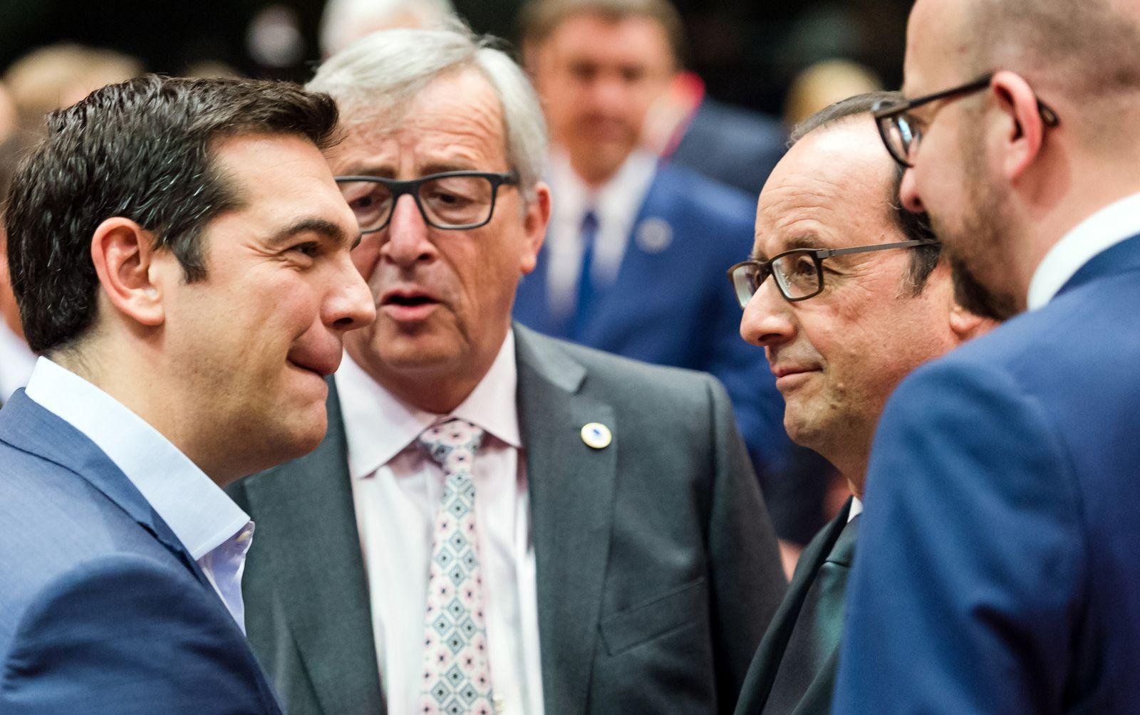 Brüssel/ Finanzkrise in Griechenland