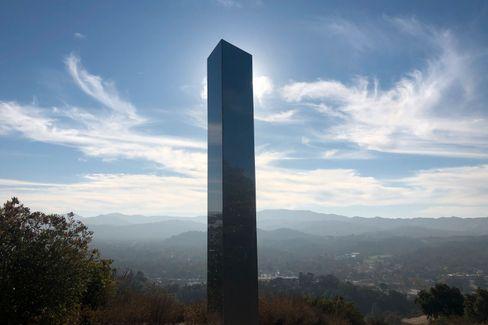 Monolith in Atascadero, Kalifornien