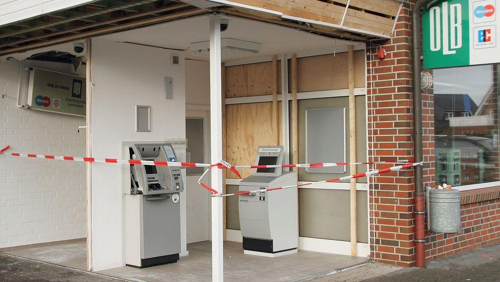 Geldautomaten: Mit Schaum gegen Räuber
