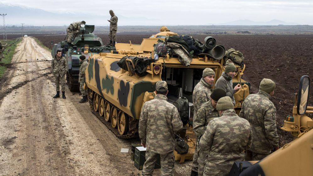 """Operation """"Olivenzweig"""": Gefechte an der Grenze zu Syrien"""