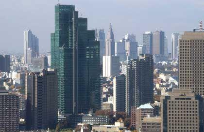 Skyline von Tokio: Angst in der Hauptstadt