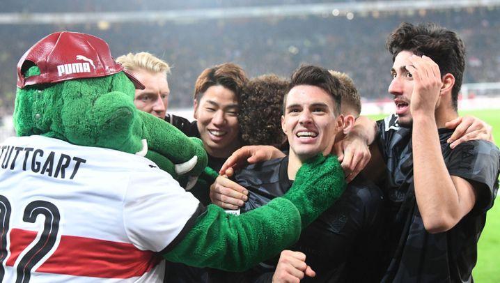 Bundesliga: Der VfB bestraft die Dortmunder Fehler