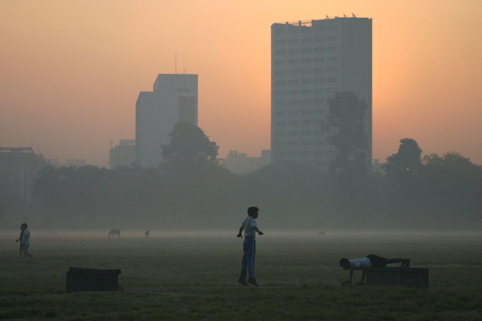 Indien / Luftverschutzung / Kalkutta