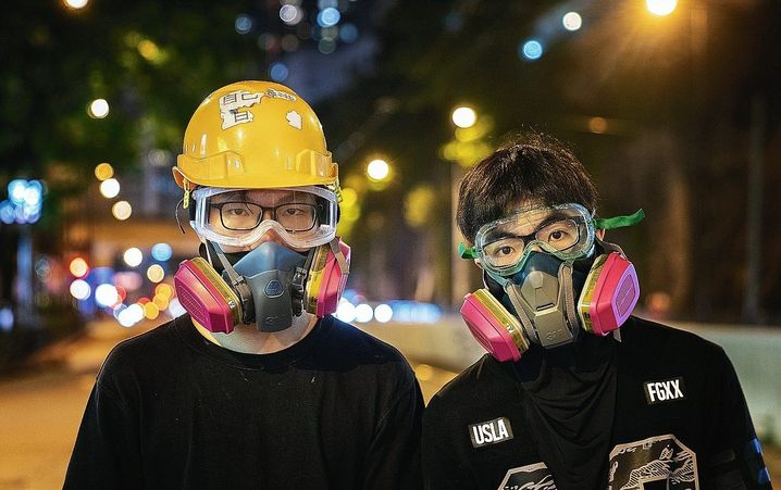 Demonstrators in Hong Kong. It remains unclear who might have the power to negotiate on behalf of the protesters.
