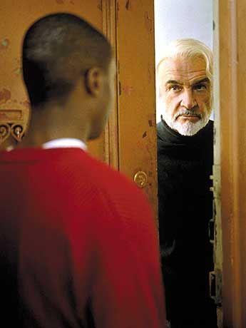 Eintritt in die Welt der Literatur: Jamal (Rob Brown) trifft Forrester (Sean Connery)