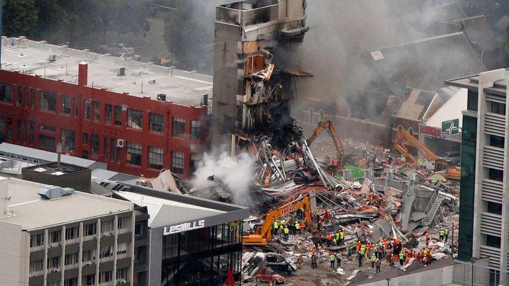 Neuseeland: Heftiges Erdbeben erschüttert Christchurch