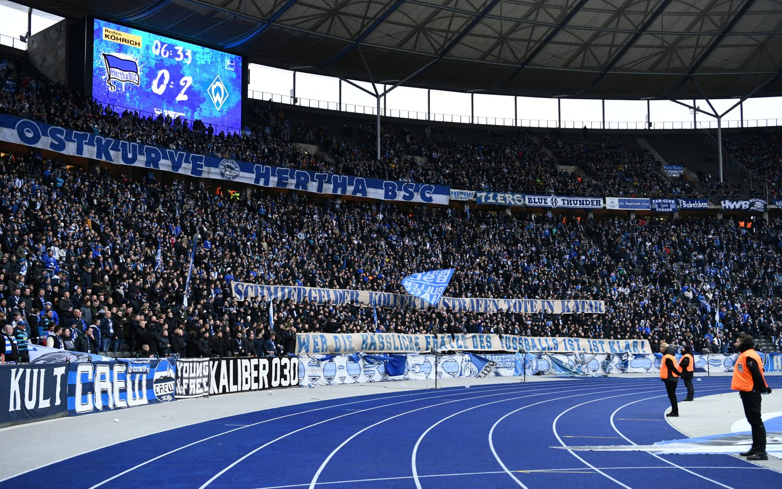 Bundesliga - Hertha BSC v Werder Bremen