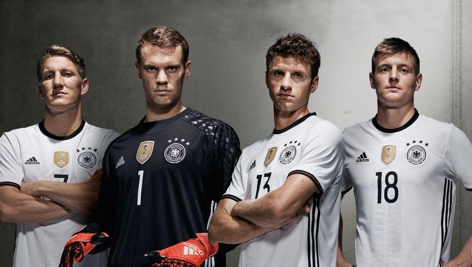 Neuer, Müller, Kroos